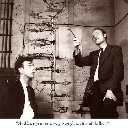Watson Crick Cambridge Uni