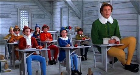 "Will Ferrell in ""Elf"""