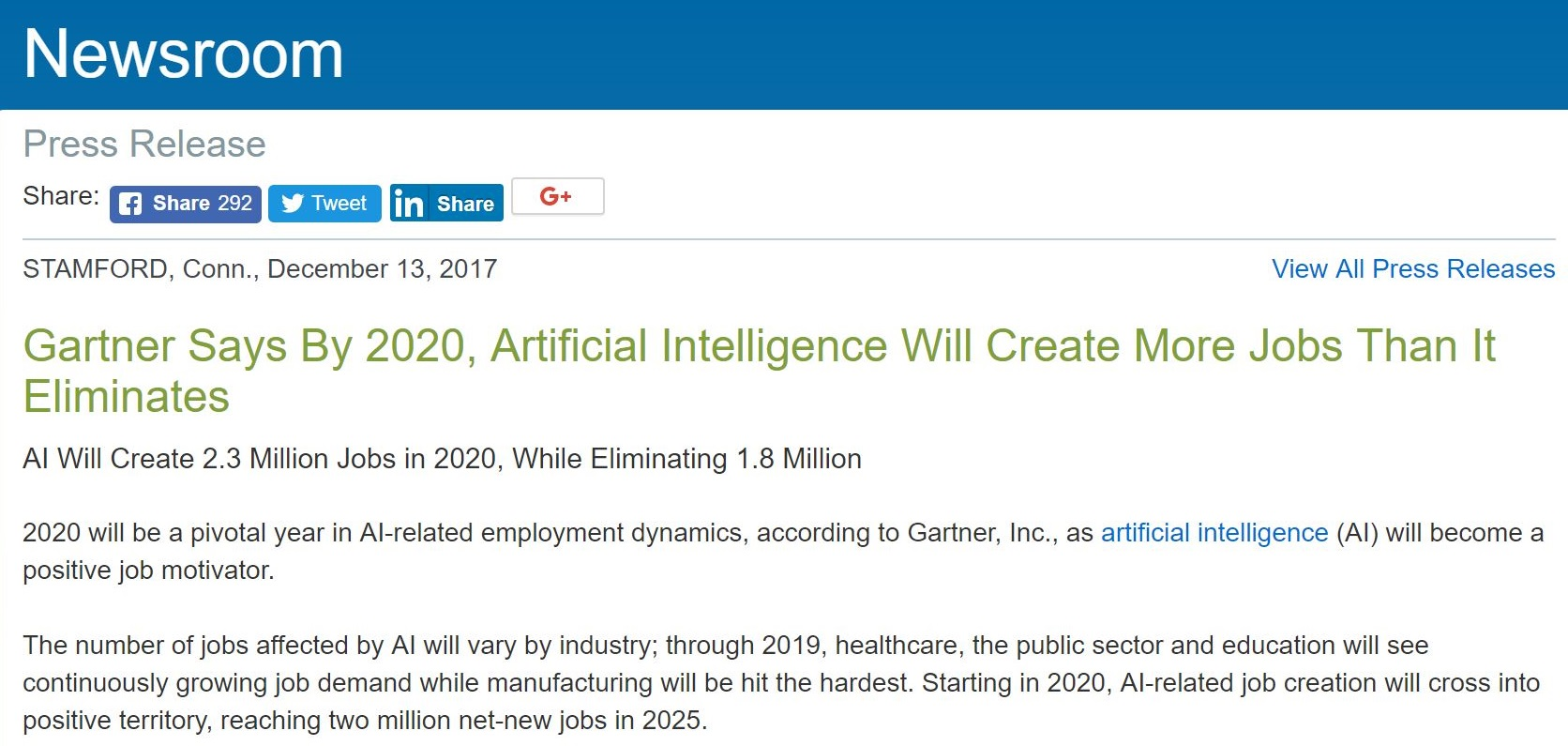 Gartner fails spectacularly with its 180 degree flip on the