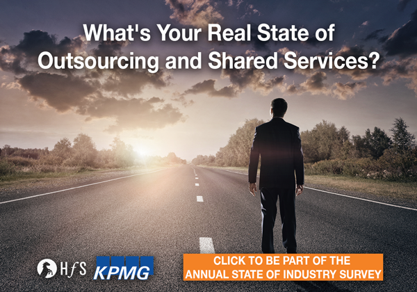It's back... the industry's seminal study on outsourcing and shared services!