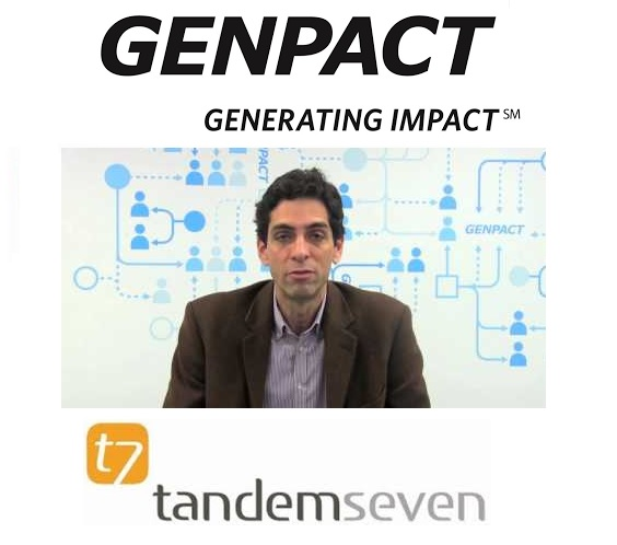 It's Design Thinking heaven with TandemSeven as Genpact makes its OneOffice move