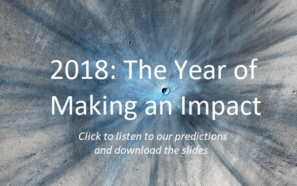 Ten predictions for 2018 that will all come true!
