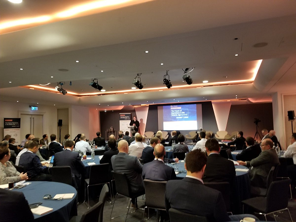 The HfS London FORA Summit.... we could have packed this out three times over!