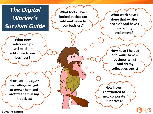 The digital worker survival guide: it's much more about attitude than skills