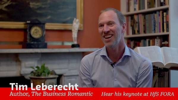 Meet the Business Romantic: Tim Leberecht