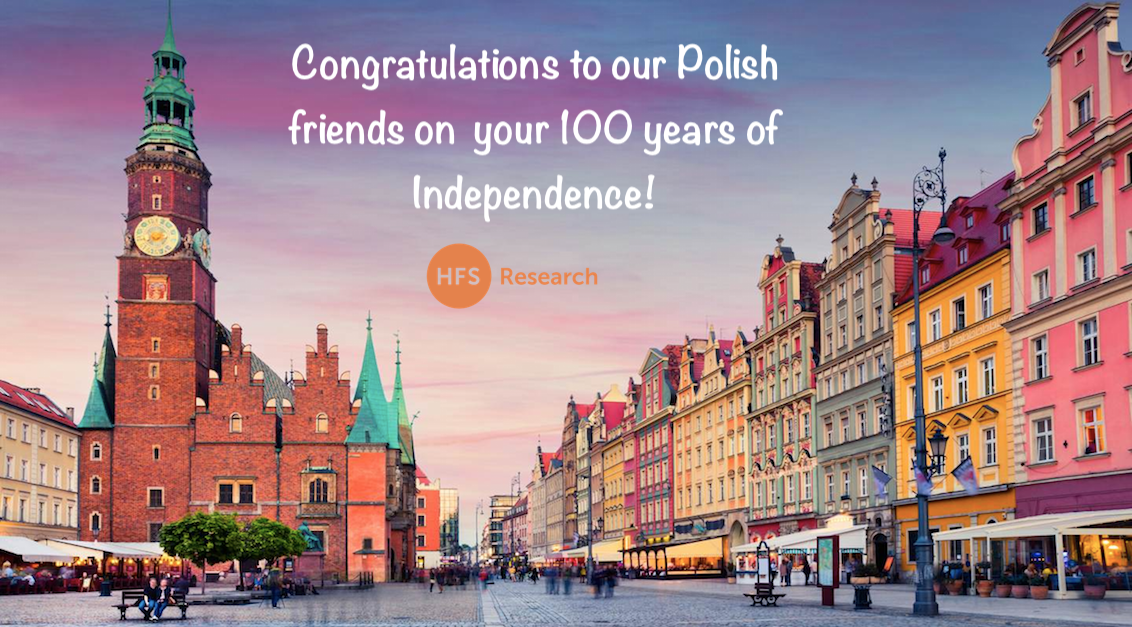 Happy 100 years of Independence for the Third Polish Republic... Trzecia Rzeczpospolita
