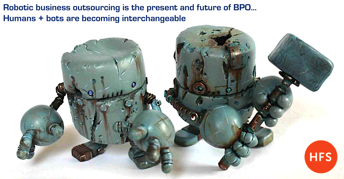 The present and the future is... Robotic Business Outsourcing