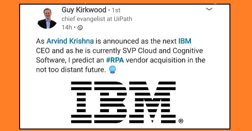 Why on earth would IBM buy an RPA firm now?