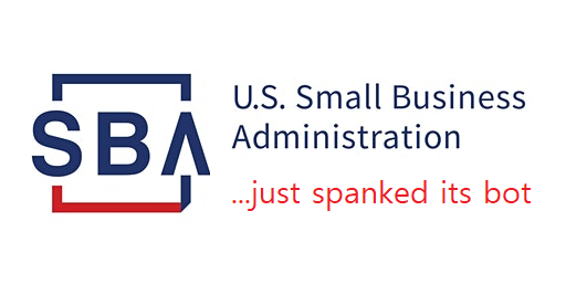 SBA:  Please stop spanking bots