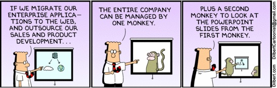 Building your governance team:  if you hire monkeys, you get...