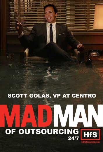 Scott Golas, VP at Centro, Madman of Outsourcing