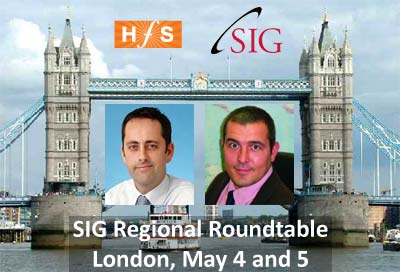 Join us in London for SIG's Regional Roundtable