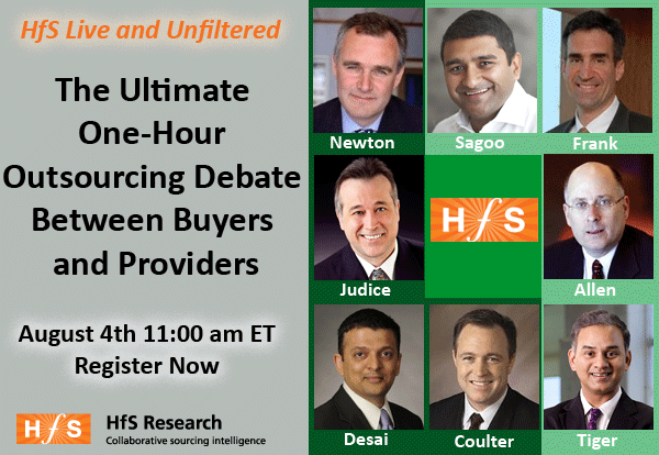 Join us for HfS Live and Unfiltered