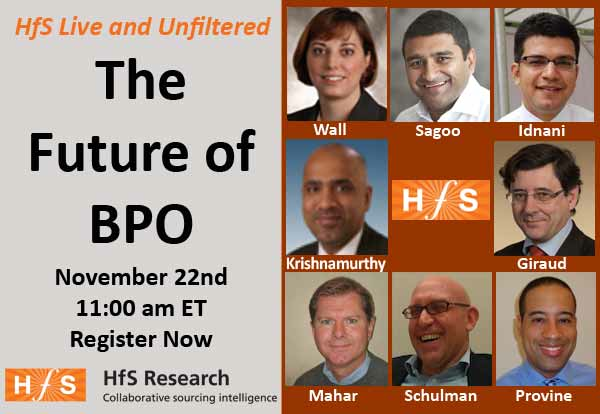 Don't miss today's web-debate - The Future of BPO