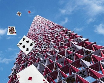 how to build the tallest house of cards