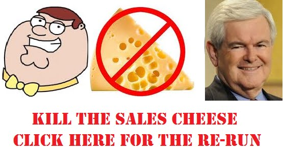 "In case you missed our ""Kill the Sales Cheese"" webcast, here's the replay"