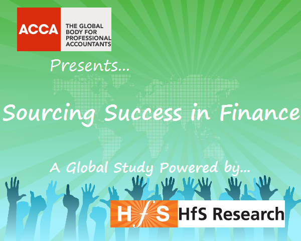 Are you achieving sourcing success with your finance?  ACCA and HfS have teamed up to find out...