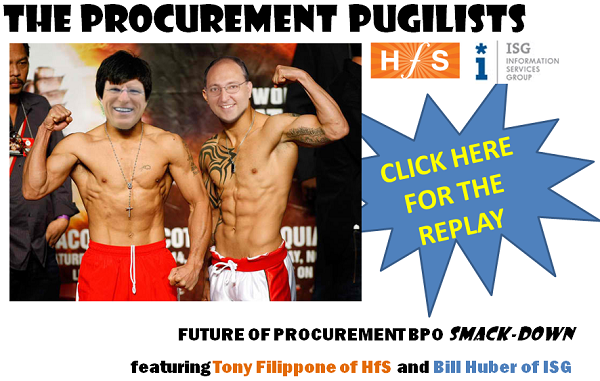 Missed the recent Procurement BPO slug-fest?