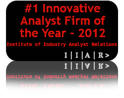 "HfS spooks the legacy analysts by scooping the ""Most Innovative Analyst Firm"" award for 2012"