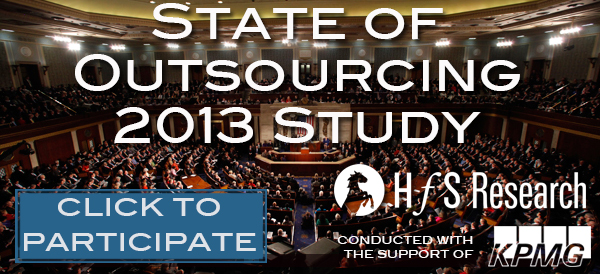 State of Outsourcing 2013:  It's time to add YOUR opinion!