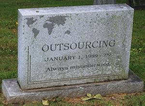 "Accenture de-emphasizes the term ""outsourcing"" - is this the final death knell for the O word?"
