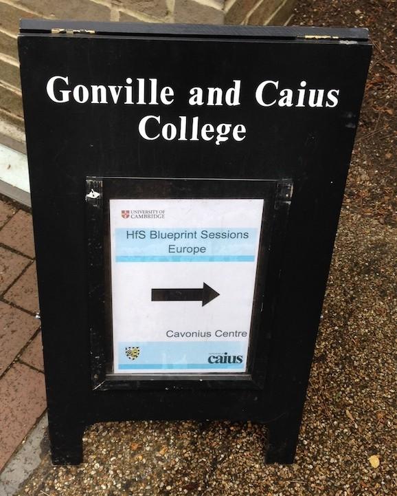 And the HfS roadshow hits Cambridge University