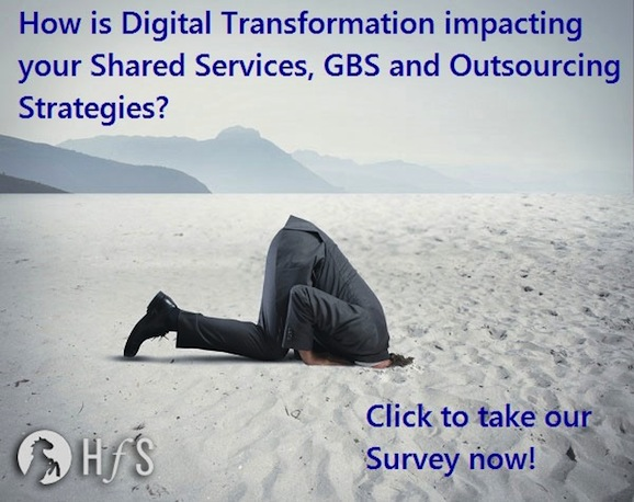 What's the real impact of Digital Technologies on Outsourcing and Shared Services?