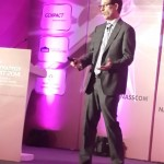 Charles Sutherland closes out this year's Nasscom BPM Summit in Bangalore