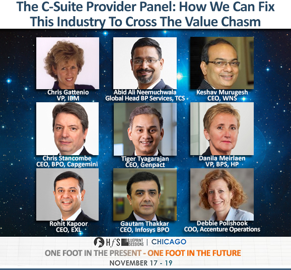 The C-Suite sourcing elite gathers in Chicago this Fall... let's meet the providers