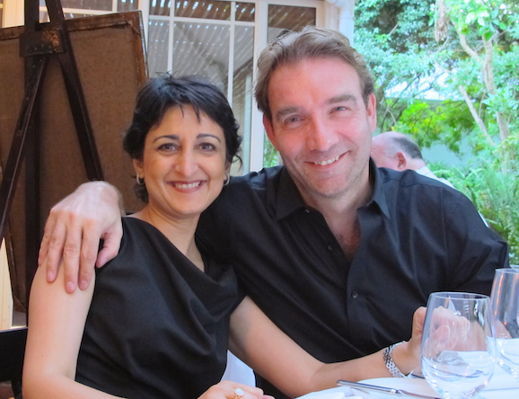 HfS new Managing Director, Tom Reuner with wife Ayesha